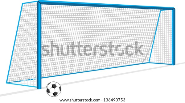 soccer-ball-gate-isolated-on-600w-136490
