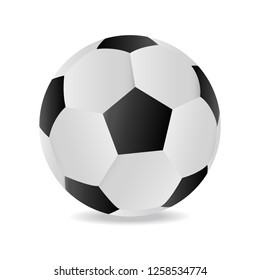 Soccer ball icon. Soccer ball icon. Great detail. Vector illustrations on white background