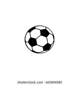 soccer ball icon. sign design