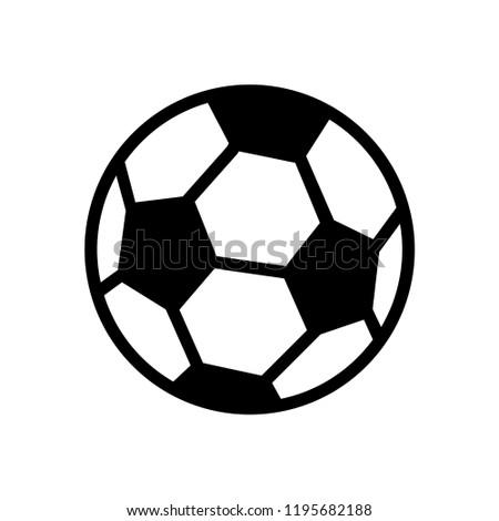 soccer ball icon templates stock vector royalty free 1195682188