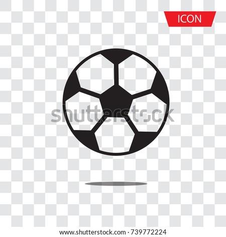 Soccer Ball Icon Vector Football Icon Stock Vector Royalty Free