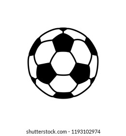soccer ball icon vector template