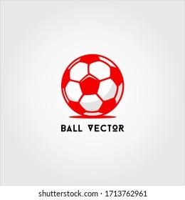 soccer ball logo and vector
