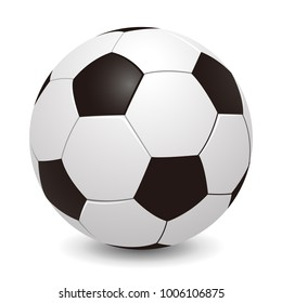 Soccer ball – stock vector