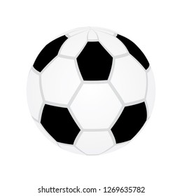 Soccer ball vector eps10. Football game soccer ball vector eps10.