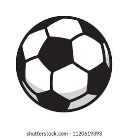 soccer ball vector football icon logo symbol illustration cartoon graphic