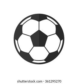 Soccer ball  - vector icon