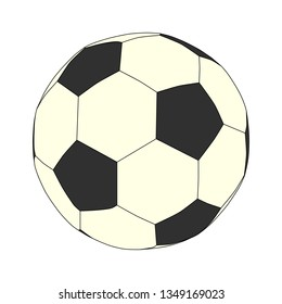 soccer ball without background