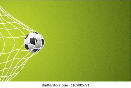 Soccer banner wallpaper poster green grass field football Net pattern Sport ball illustration vector Sky Waves  EK WK Europees play model Football 2019 2020 Fun Funny sports finale world cup uae