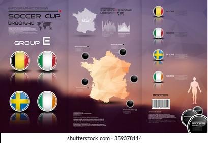 Soccer cup brochure-Group E