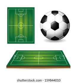 soccer design over  white background  vector illustration