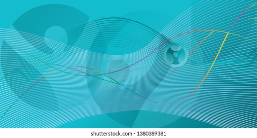 Soccer European championship. 2020 Abstract Turquoise background soccer dynamic shapes banner Football Poster Europe Champion League award cup Soccer ball Winner world WIN Final Game competition sign