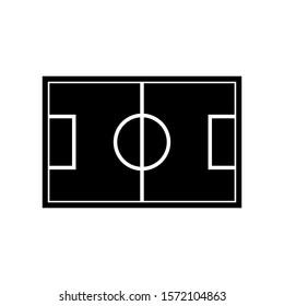 soccer field icon design vector template