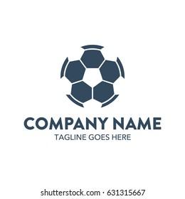 Soccer Foot Ball Logo Template