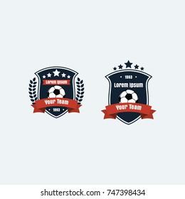 Soccer Football Club Logo Badge for Your Team