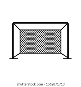 Soccer or Football Icon - Goal Post Icon