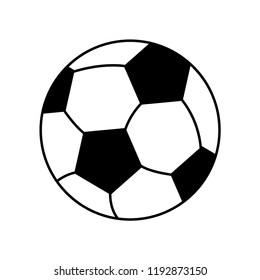 Soccer football icon vector logo template