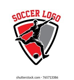 Soccer and Football Logo Vector