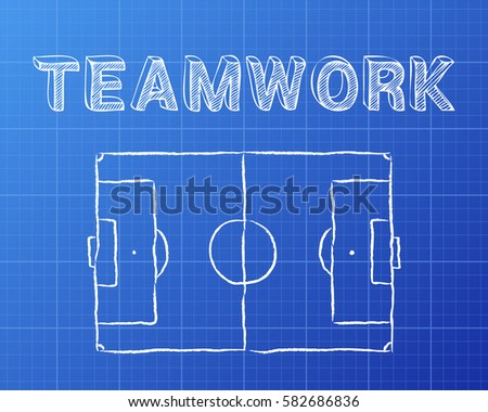 soccer football pitch diagram teamwork 450w 582686836 soccer football pitch diagram teamwork word stock vector (royalty