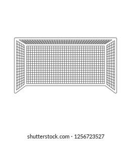 Soccer gate icon