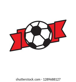 Soccer icon on white background for graphic and web design, Modern simple vector sign. Internet concept. Trendy symbol for website design web button or mobile app