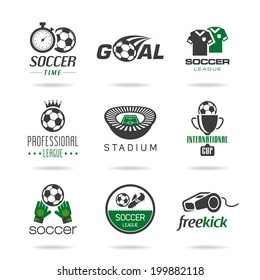 Soccer icon set - 3