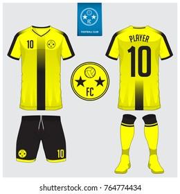yellow football jersey