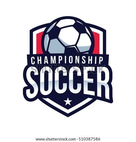 Soccer Logo American Logo Sports Stock Vector (Royalty Free ... 52f37c8a2