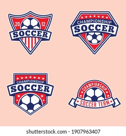 Soccer Logo and Badges This design is fully vector and editable.