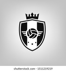 juventus logo images stock photos vectors shutterstock https www shutterstock com image vector soccer logo football sign badge background 1511219219