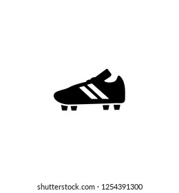 d57ac6ae0 soccer shoe icon vector. soccer shoe vector graphic illustration