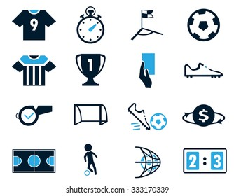 Soccer simply symbol for web icons