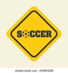 soccer sport design, vector illustration eps10 graphic