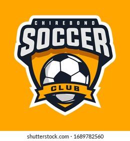 soccer sport logo, cool logo for your soccer club