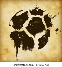 Soccer Template - suitable for posters, flyers, brochures, banners, badges, labels, wallpapers, web design, advertising, publicity or any branding.