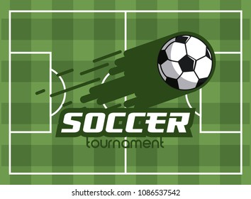 Soccer tournament concept