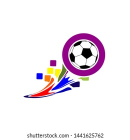 Soccer Tournament Logo or Soccer Championship Logo.