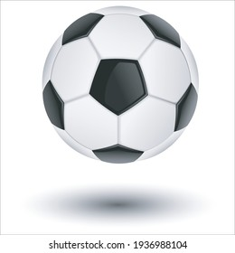 soccerball with isolated background vector illustrator 10