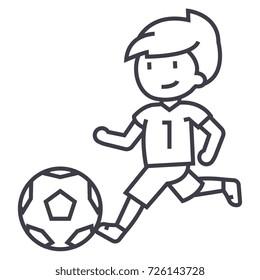 Kinder Spielen Fussball Stockillustrationen Bilder Und