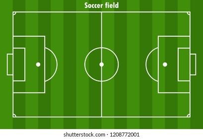 Fussballfeld Stock Illustrations Images Vectors Shutterstock