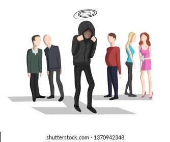 Social anxiety, social phobia