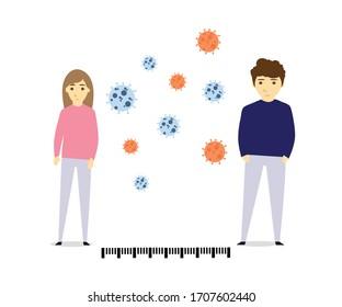 Social Distancing during corona virus