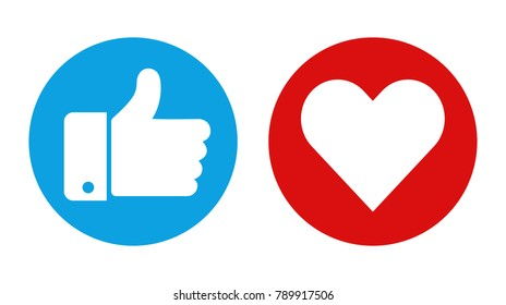 Social icons. Vector illustration