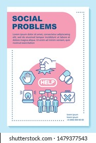 Problems Society Images, Stock Photos & Vectors | Shutterstock