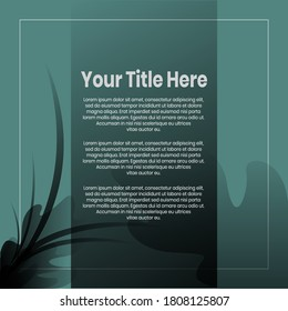 Social media banner. Business presentation template. Modern blog posts or Editable simple info banner, trendy book cover idea. For app, web mail digital display style.