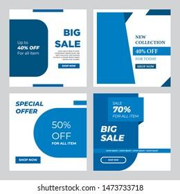 Social Media Banner Tempalate Design, Modern Business Promotion, Web Banner For Social Media, Mobile Apps, E-Commerce, Online Shop