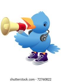 Social Media Bird