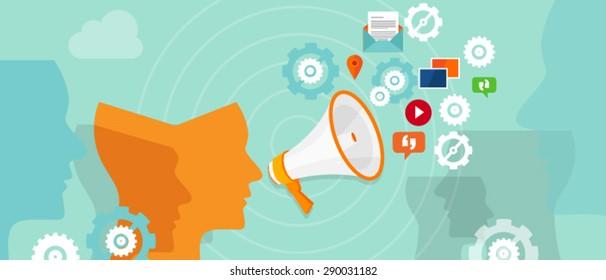 Social media communication brand ambassador marketing