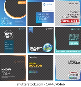 Social Media Design Templates - Medical Series