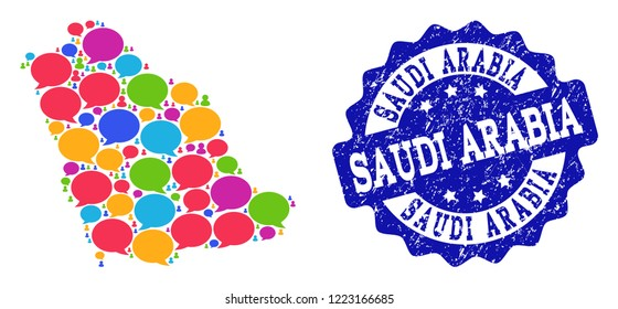 Social Media In Saudi Stock Illustrations, Images & Vectors